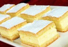 A 14 legkrémesebb krémes Karácsonyra   NOSALTY Hungarian Cake, Hungarian Recipes, Hungarian Food, Baking And Pastry, Cannoli, Something Sweet, Cornbread, Vanilla Cake, Cheesecake