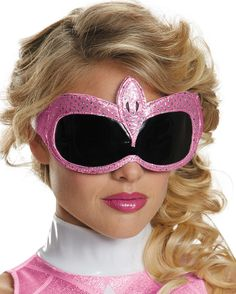 Power Rangers Pink Ranger Adult 1/4 Mask One Size