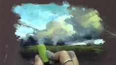 Quick Pastel Painting Demo from Periscope Broadcast - YouTub Chalk Pastel Art, Soft Pastel Art, Pastel Artwork, Chalk Pastels, Pastel Drawing, Pastel Paintings, Soft Pastels, Painting Videos, Painting Lessons