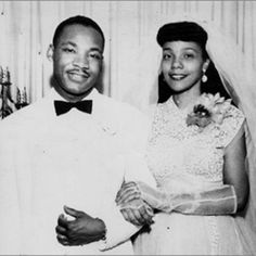 Happy Martin Luther King Jr. Day!  To celebrate we just had to share a picture of Martin Luther King and Coretta Scott King on their #wedding day!  Check out the Natalie K insider for more on this historical couple! #MLK