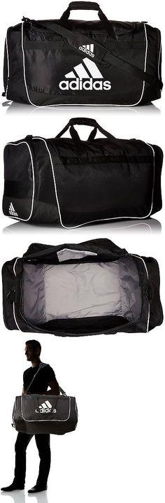 Bags and Backpacks 163537: Adidas Defender Ii Duffel Bag Black Medium -> BUY IT NOW ONLY: $30.39 on eBay!
