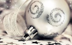 """Buy the royalty-free Stock image """"Holiday background with silver Christmas tree ornament and decoration"""" online ✓ All image rights included ✓ High resol. White Christmas Ornaments, Silver Christmas Decorations, Silver Christmas Tree, Silver Ornaments, A Christmas Story, Christmas Colors, Christmas Photos, Christmas Themes, Christmas Holidays"""