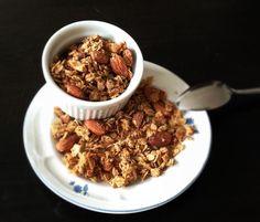 Maple Almond Cinnamon Granola (deliciousinadash.com)
