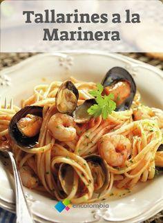 Linguine, Recipe For 4, Risotto, Spaghetti, Healthy Recipes, Ethnic Recipes, Food, Pasta Salad, Dessert Food