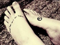 love the foot tat