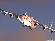 The Antonov 224: the biggest airplane in the world.