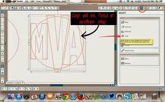 Silhouette School: Silhouette Circle Monogram Tutorial (Your Font Choice!)