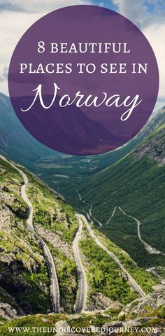 Norway is such a beautiful country with SO much to see and do. Come see what our favorite places to see in Norway are including the scenic views in Norway, beautiful fjords in Norway, and much more. We are SURE that you'll add a few of these beautiful spots in Norway to your Norway itinerary. Don't forget to save this to your travel board. You'll want to be able to find this later! #norway #traveltipsfornorway