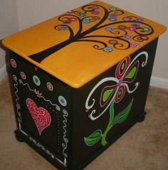 Salvaged Cabinet by Rick Cheadle Art and Designs, via Flickr
