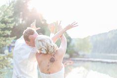 Idee für ein Motiv beim Brautpaarshooting