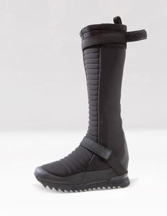 relief neoprene high boots closing by zipper, additional elastic overlap band Futuristic Shoes, Superhero Design, High Shoes, Future Fashion, Winter Shoes, Urban Outfits, Clothes Horse, Designer Shoes, Me Too Shoes