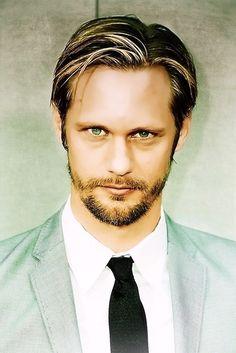 Alexander Skarsgård. Aka, the main reason why I watch True Blood. mhm. Hawt