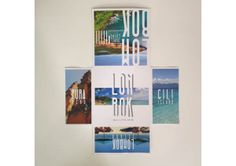 Promotional Travel Brochure // Lombok on Behance