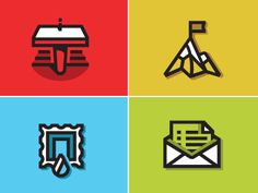 Brand Marks Redux #icons by Justin Hall