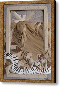 The Visionary  Canvas Print / Canvas Art By Nadine May
