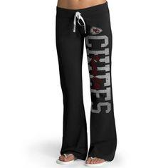 Kansas City Chiefs '47 Brand Ladies Pep Rally Pants – Black