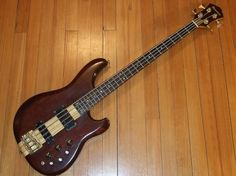 My 1st ever bass guitar used on tour ... an Ibanez 1983 Musician 4 string. many a good time with this baby back in the day :-)