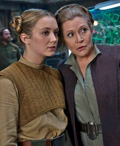 Carrie Fisher and her daughter Billie Lourd