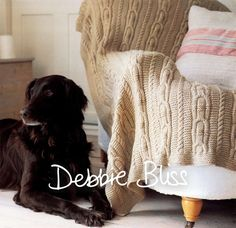 Cabled Throw in Debbie Bliss Cashmerino Aran - Downloadable PDF. Discover more patterns by Debbie Bliss at LoveKnitting. The world's largest range of knitting supplies - we stock patterns, yarn, needles and books from all of your favourite brands.