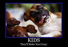 {Tickled Mum Quotes} Kids...they'll make you crazy!!! #TickledMummyClub