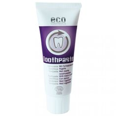 Pasta de dinti homeopata cu chimen negru, fara fluor, 75ml, Eco Cosmetics  - Sabedoria