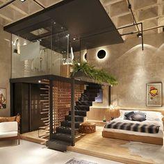 Dream apartment #designlume #melbourne #interiordesign #dream #design #interior #loft #bedroom #loveit #boss #dailypic #dailyinspo