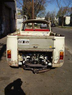 Vw Kombi Rat Look - Año 1981 - 2000 km - en MercadoLibre
