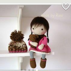 #crochet #crochetdoll #amigurumi #amigurumidoll #amigurumi #handmade #madebyrusi #rusidolls #вязанаяигрушка #вязание #куклакрючком