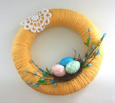 Sweet Easter Wreath