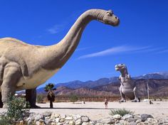 Hwy 10 - Cabazon, CA - Weird and Wonderful Rest Stops : Condé Nast Traveler