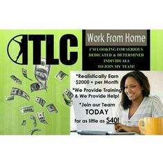 START & OWN YOUR OWN BUSINESS FOR JUST $40! ***(Limited time offer) www.gotlcdiet.com/gotthetea Find out what all the excitement is about then join the movement! Start getting paid TODAY!!!