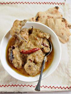 A Homemaker's Diary: Chicken Rezala