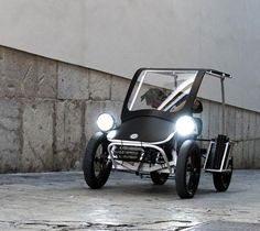 DUO MOKE Project: A new breed of electric multi-person electric cargo - Urban Drivestyle GmbH Electric Cargo Bike, Electric Cars, Electric Vehicle, Dirt Bike Room, Electric Car Conversion, Reverse Trike, Bike News, Bicycle Design, Vintage