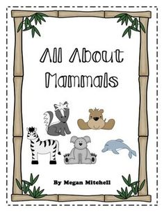 All About Mammals Unit