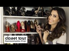 ▶ Tour no closet de Camila Coutinho - YouTube
