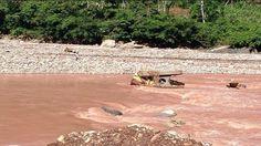 Apareció el cadáver del joven arrastrado por el río Yuracyacu
