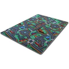 Childrens Play Mat Carpet  My Town 32 x 48  4 sizes available >>> You can get additional details at the image link.