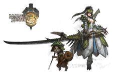 Rathian Samurai (Monster Hunter)
