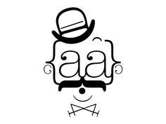 typeface designed by Leanda Xavian. Typography Portrait, Text Portrait, Logo Face, Font Art, Graphic Projects, Typographic Poster, Conceptual Design, Typography Inspiration, Graphic Design Posters