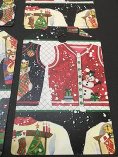Ugly Christmas Sweater Christmas Tags  set of 12 by PaperMoments
