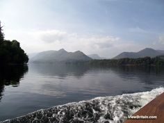 Pictures of Derwentwater in Keswick, boat ride and walk around the lake. For more information on Keswick and Derwentwater, visit: http://www.viewbritain.com/england/lake-district