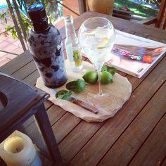 Gin-tonics.  Momento copa de Travelers.com