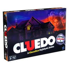 Cluedo - bűnügyi társasjáték - klasszikus változat