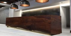 Custom furniture made from reclaimed wood and fallen trees. Live edge.