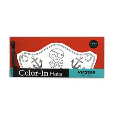 Mudpuppy Pirates Color in Hats