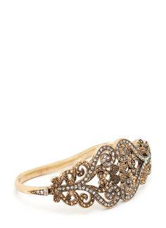 embellished swirl hand bracelet $13.80