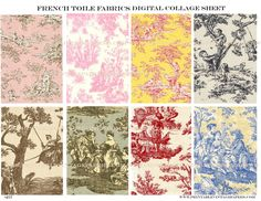 Google Image Result for http://bonanzleimages.s3.amazonaws.com/afu/images/0635/1602/_257_French_Toile_Fabrics_Collage_Sheet_600.jpg