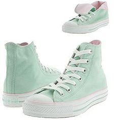 pale pink and mint green converse? What a pair!