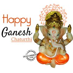 Ganesh Chaturthi 2019 GIF for Whatsapp Ganesh Chaturthi Images, Happy Ganesh Chaturthi, Gif Greetings, Ganesh Utsav, Upcoming Festivals, Happy Friendship Day, Gif Photo, Krishna Images, Lord Ganesha