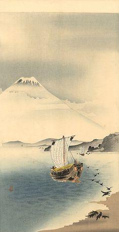 "by Ohara Koson ""Mount Fuji"" Japan"